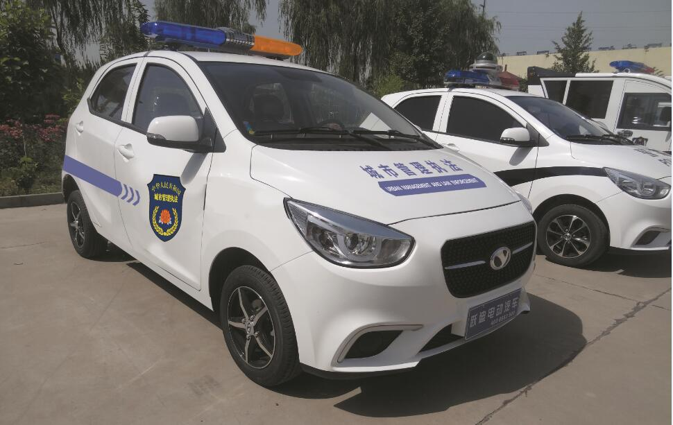 Yudea YD360 electric car used in urban management