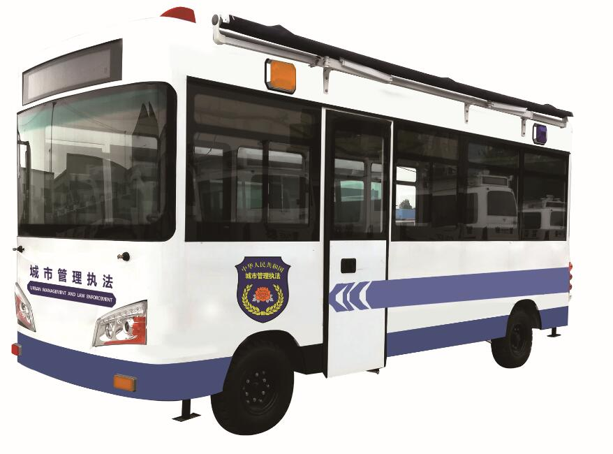 Yudea brand-5.6m vehicle used in urban management