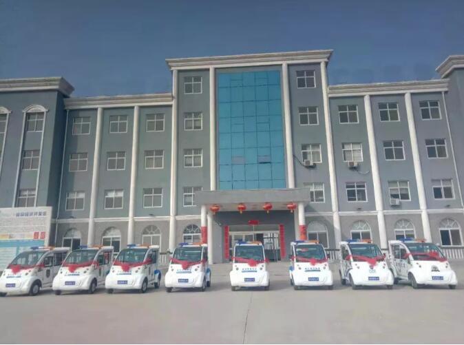 跃迪电动巡逻车批量发往宁夏地区