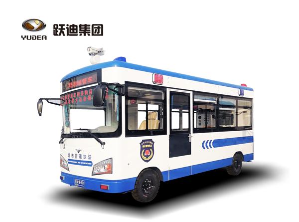 5.6米跃迪移动城管执法车(电动)