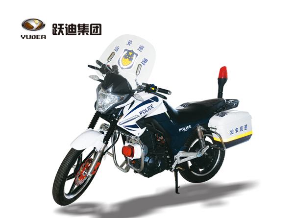 跃迪电动警用摩托车YD-K-DM