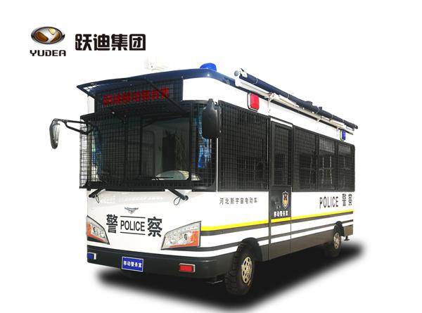 6米跃迪移动警务方舱(电动)